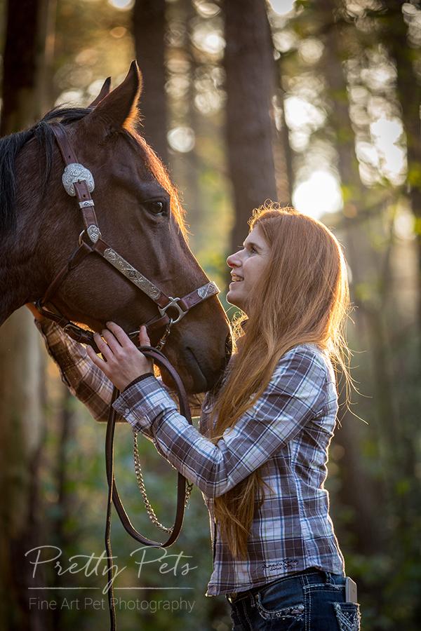 paardenfotografie met eigenaar
